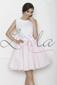 BELLA light pink and white