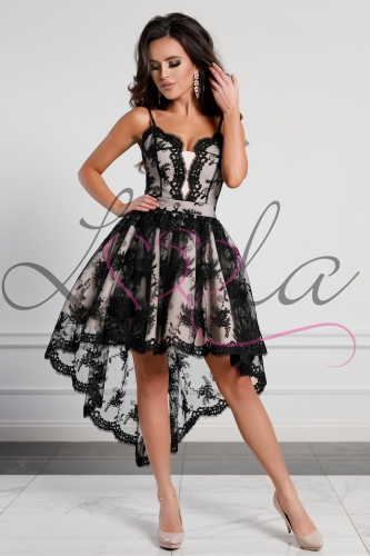 d74bbb7c5a Sukienki Brokatowe Tiulowe Z Dekoldem Na Plecach Kolory