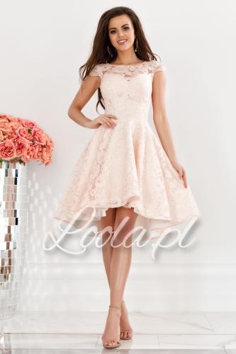 a785cd8666fe38 Sukienki brokatowe, tiulowe, z dekoltem na plecach, kolory ...