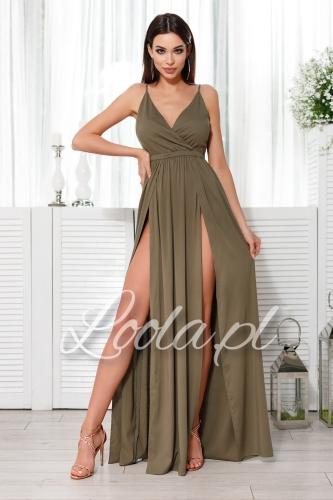 fe1a7914 Sukienki brokatowe, tiulowe, z dekoltem na plecach, kolory ...